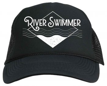 River swimmer hat