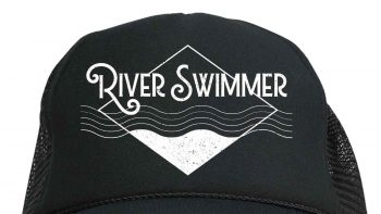 River swimmer hat cropped