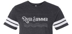 River simmer t-shirt cropped